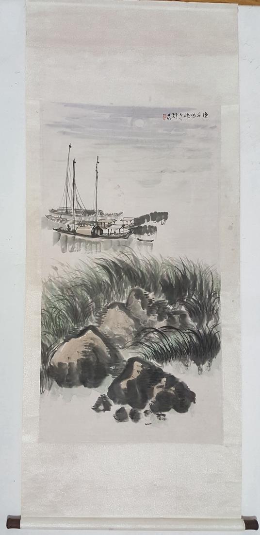 Chinese Scroll Painting,Ya Ming(1924-2002) - 2