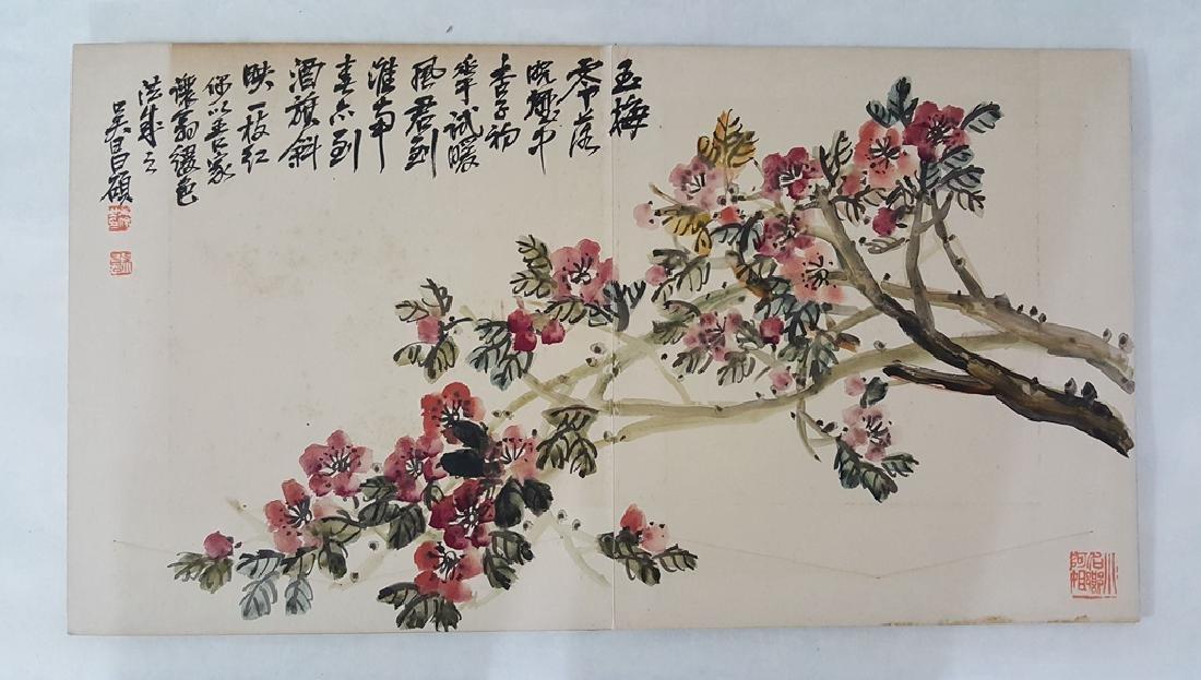 Chinese Albam Painting,Wu Changshuo(1844-1927) - 2