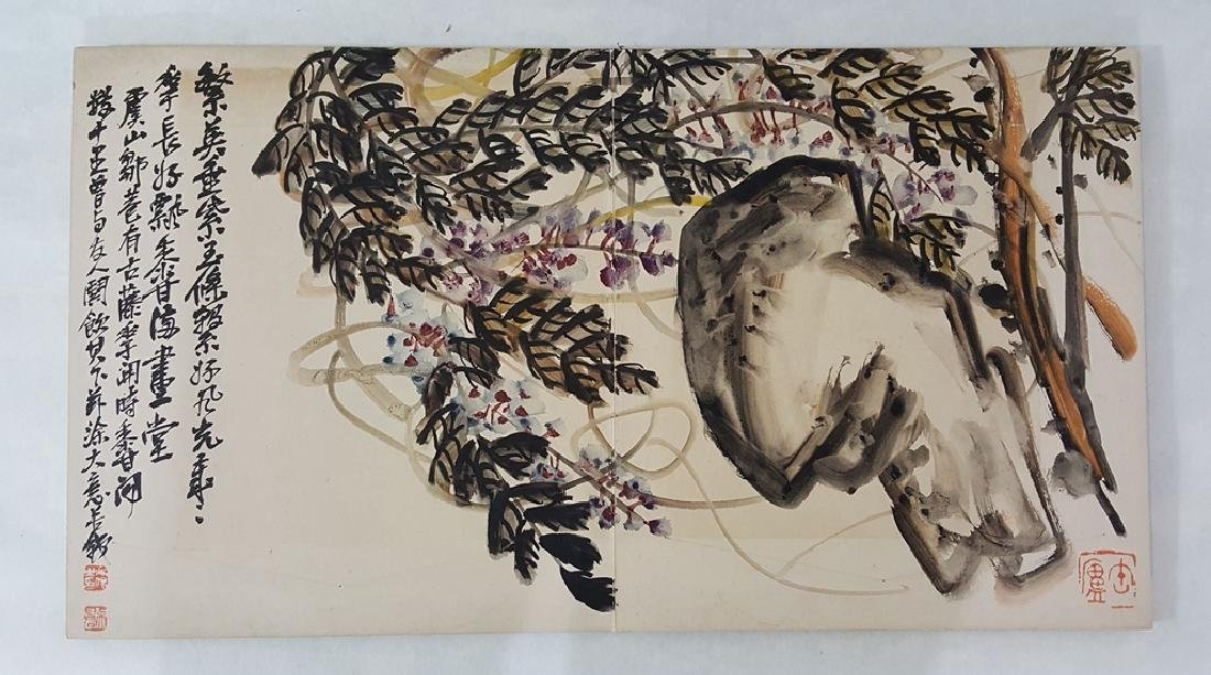 Chinese Albam Painting,Wu Changshuo(1844-1927) - 3