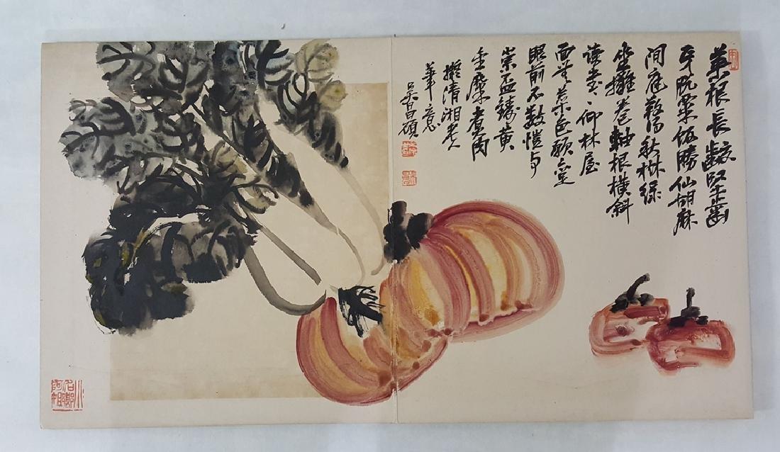 Chinese Albam Painting,Wu Changshuo(1844-1927) - 4