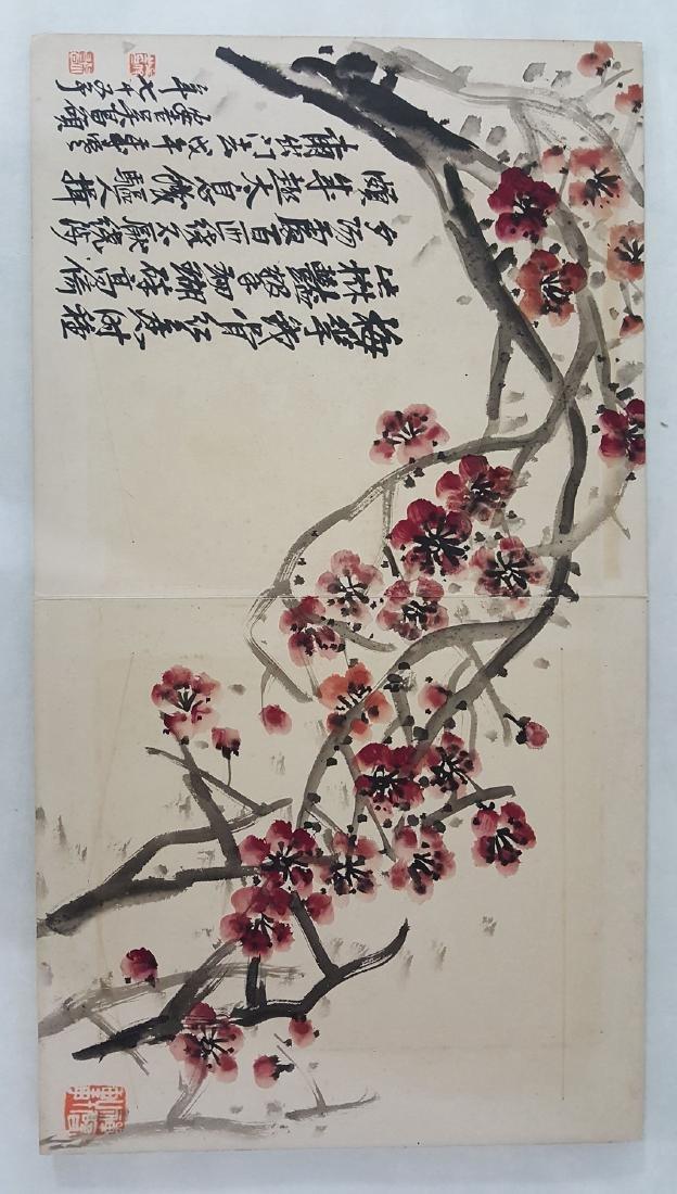 Chinese Albam Painting,Wu Changshuo(1844-1927) - 5