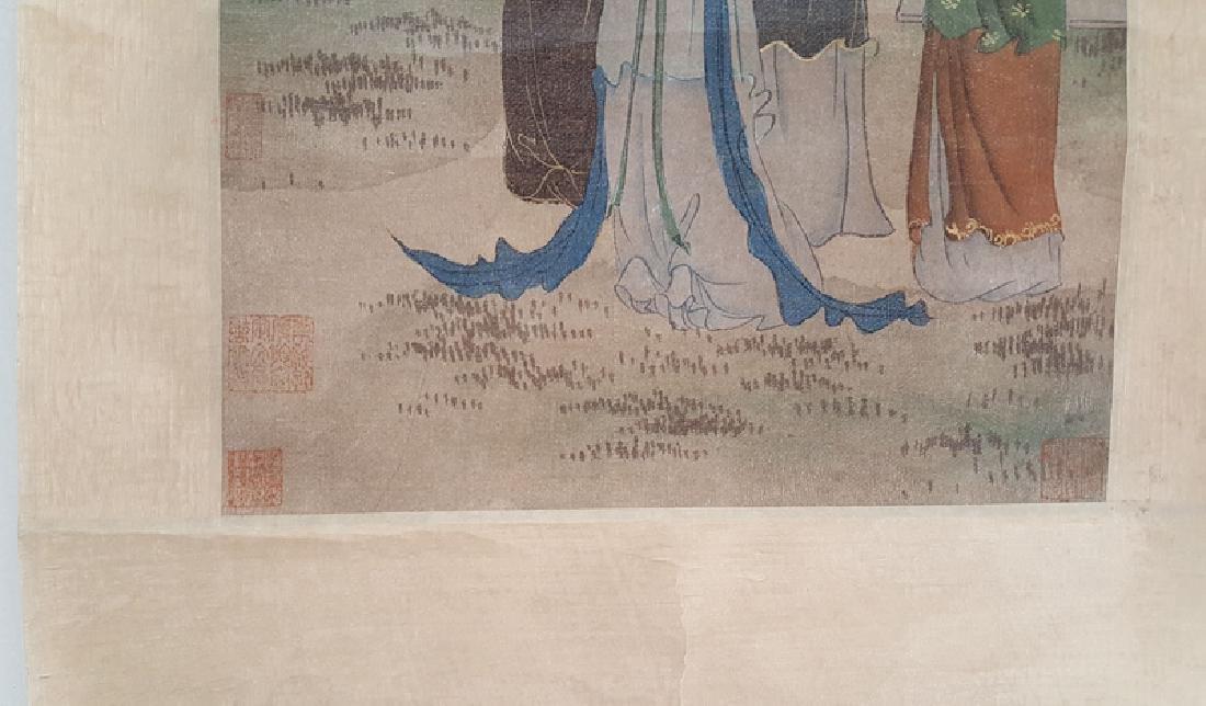 Chinese Scroll Painting,Hua Guan(Qing Dynasty) - 4