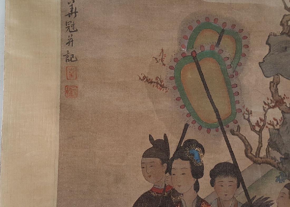 Chinese Scroll Painting,Hua Guan(Qing Dynasty) - 5