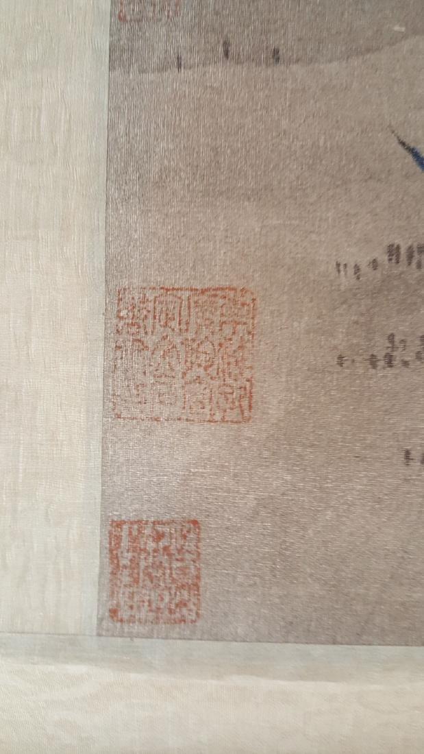 Chinese Scroll Painting,Hua Guan(Qing Dynasty) - 6