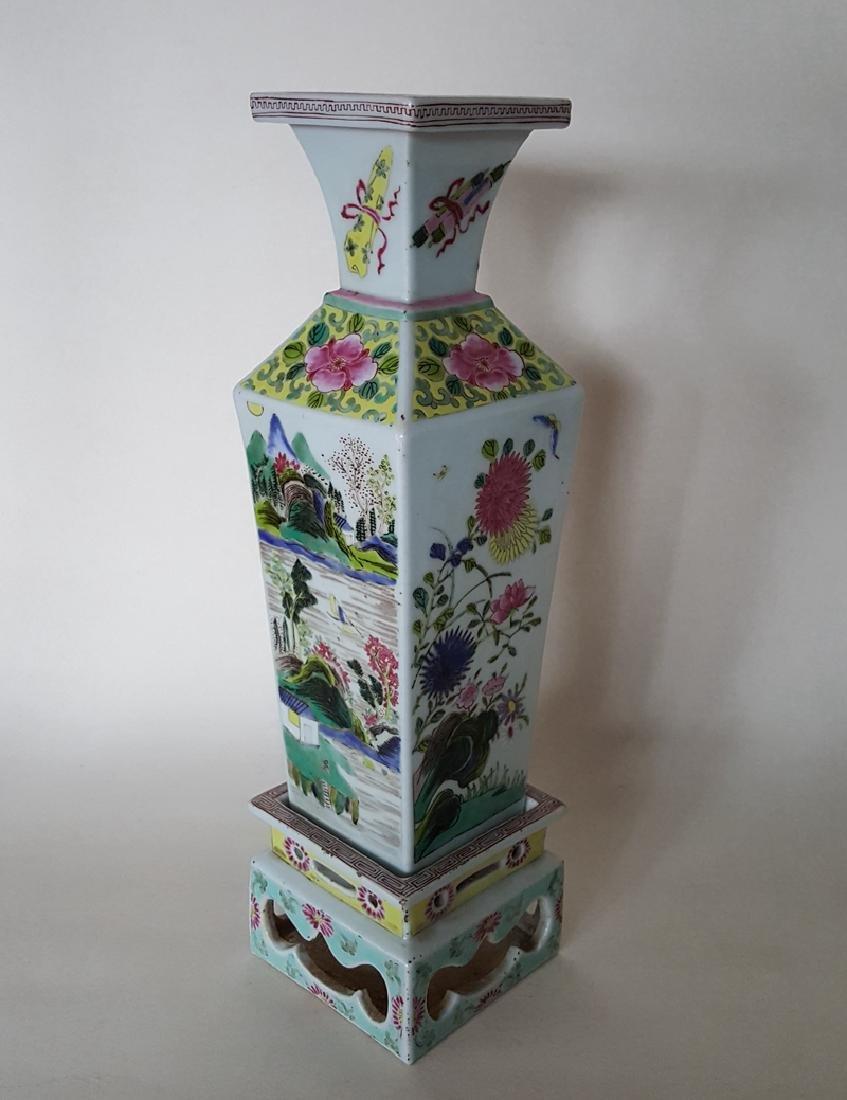 Chinese Porcelain Famille Rose Vase
