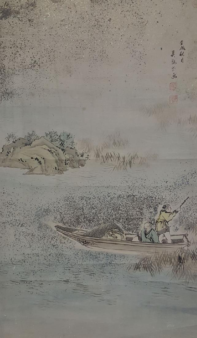 Chinese Scroll Painting,Wu Guandai(1862-1929)