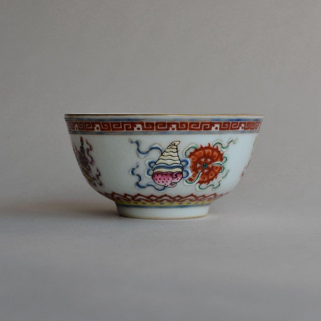 Antique Chines Famille Rose Porcelain Bowl