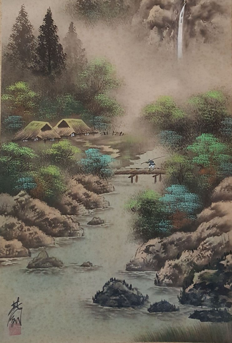 Chinese Scroll Painting,Lin Fengmian(1900-1991) - 3