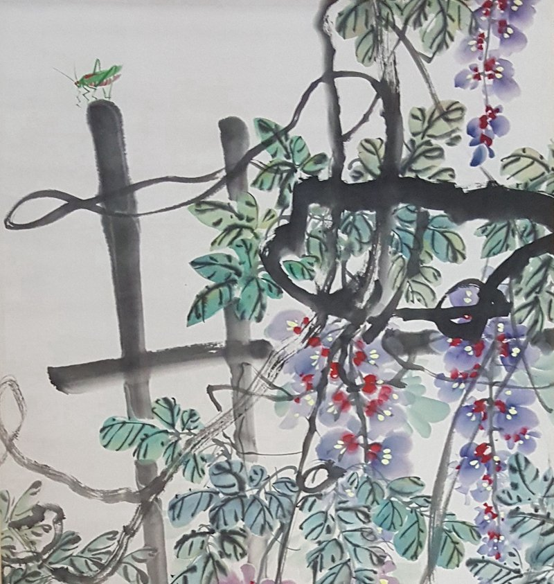 Chinese Scroll Painting,Qi BaiShi(1864-1957) - 2
