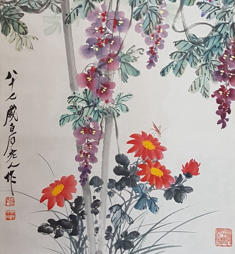 Chinese Scroll Painting,Qi BaiShi(1864-1957) - 3