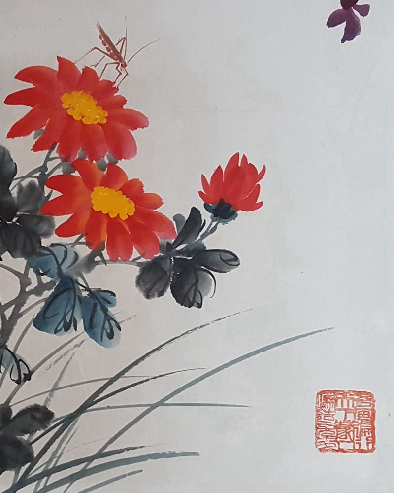 Chinese Scroll Painting,Qi BaiShi(1864-1957) - 5