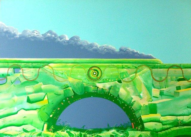 Train to Abstraction (Waldemar Borowski)
