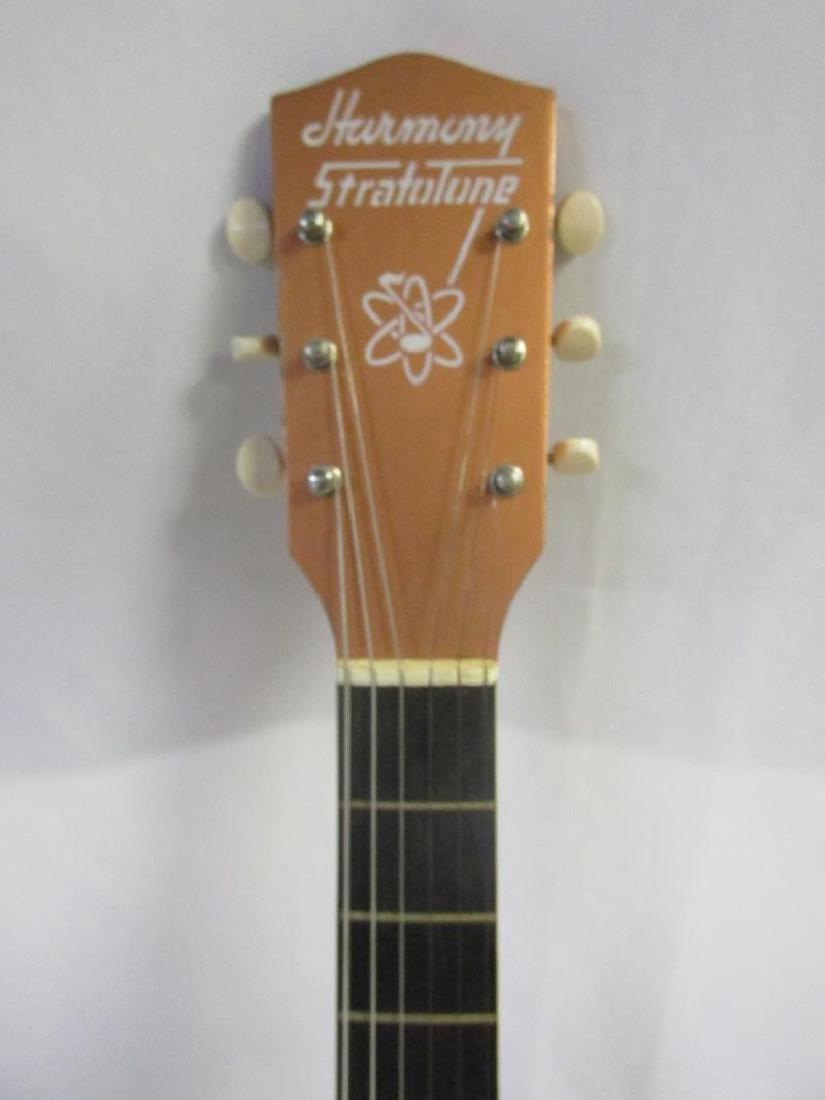1957 HARMONY STRATOTONE ELECTRIC GUITAR - 3