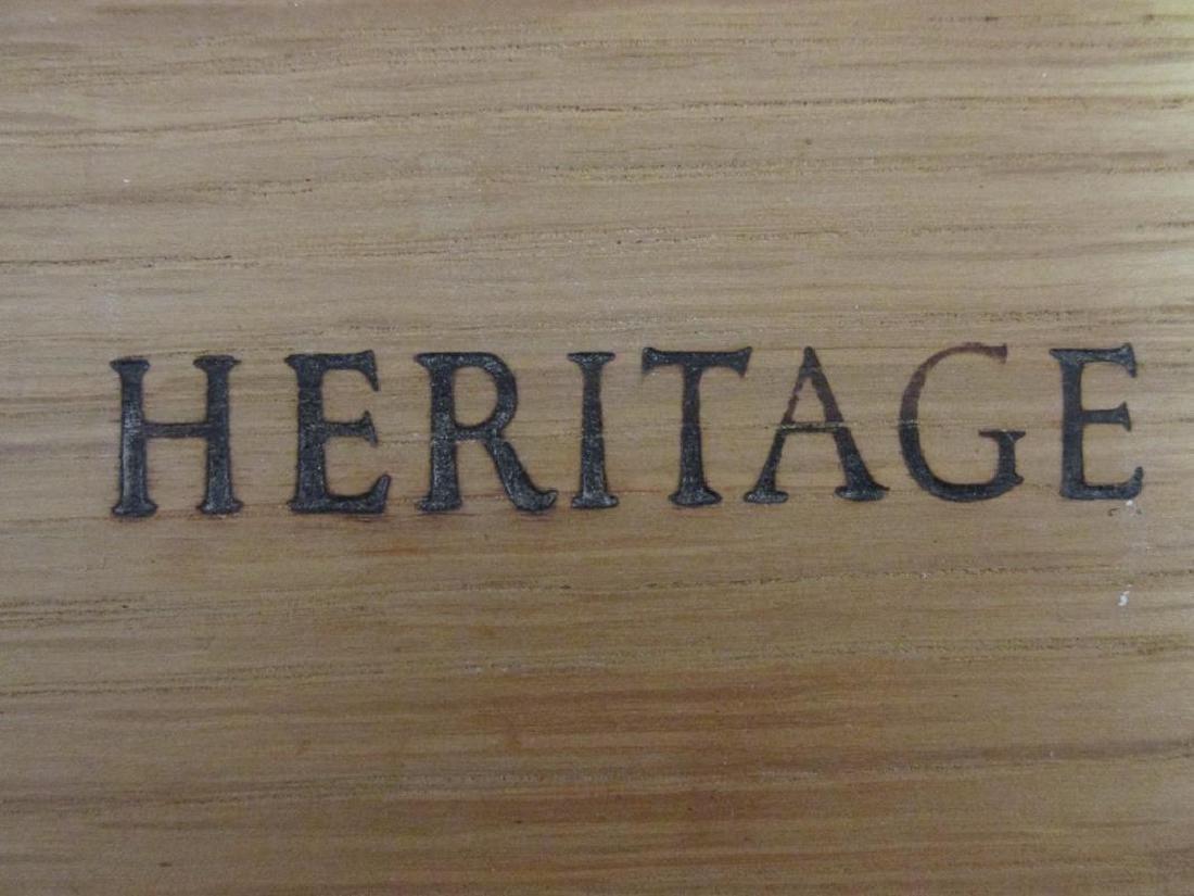 HERITAGE BURLED WOOD CHEST - 4