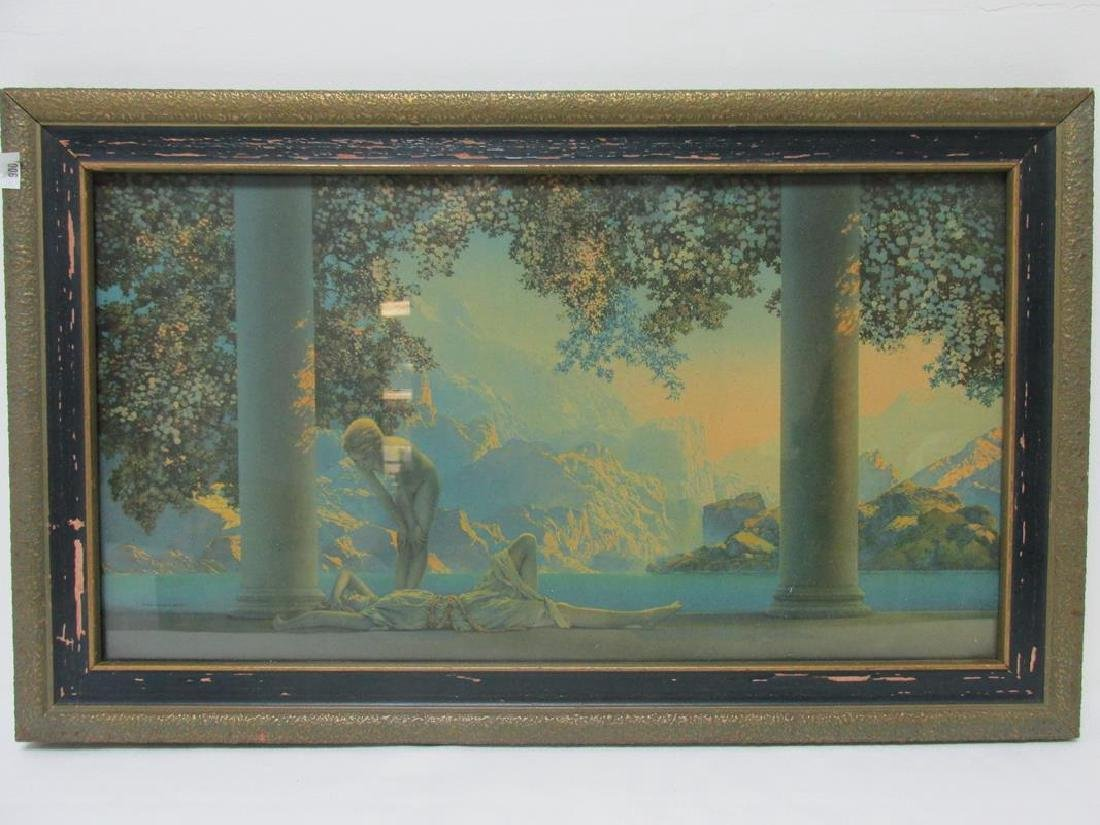 MAXFIELD PARRISH FRAMED PRINT