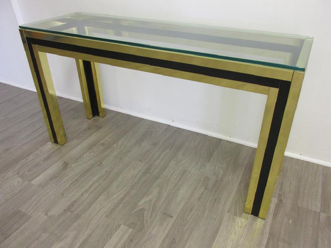 HOLLYWOOD REGENCY STYLE CONSOLE TABLE