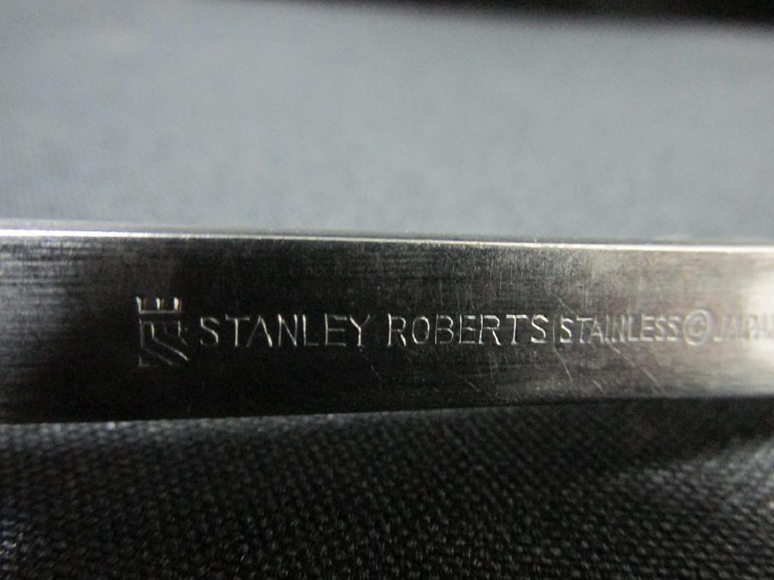 84 PC. STANLEY ROBERTS CROSSPOINT FLATWARE - 3