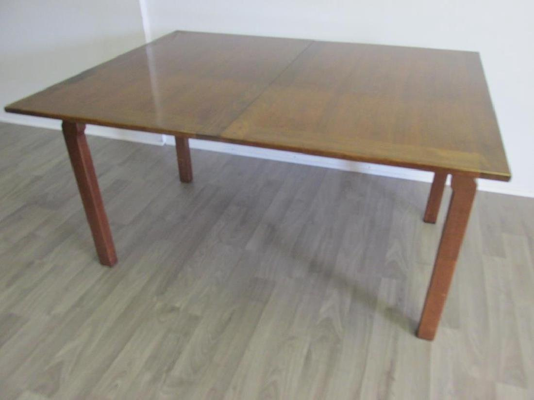 EDWARD WORMLEY FOR DUNBAR DINING TABLE, 3 LEAVES