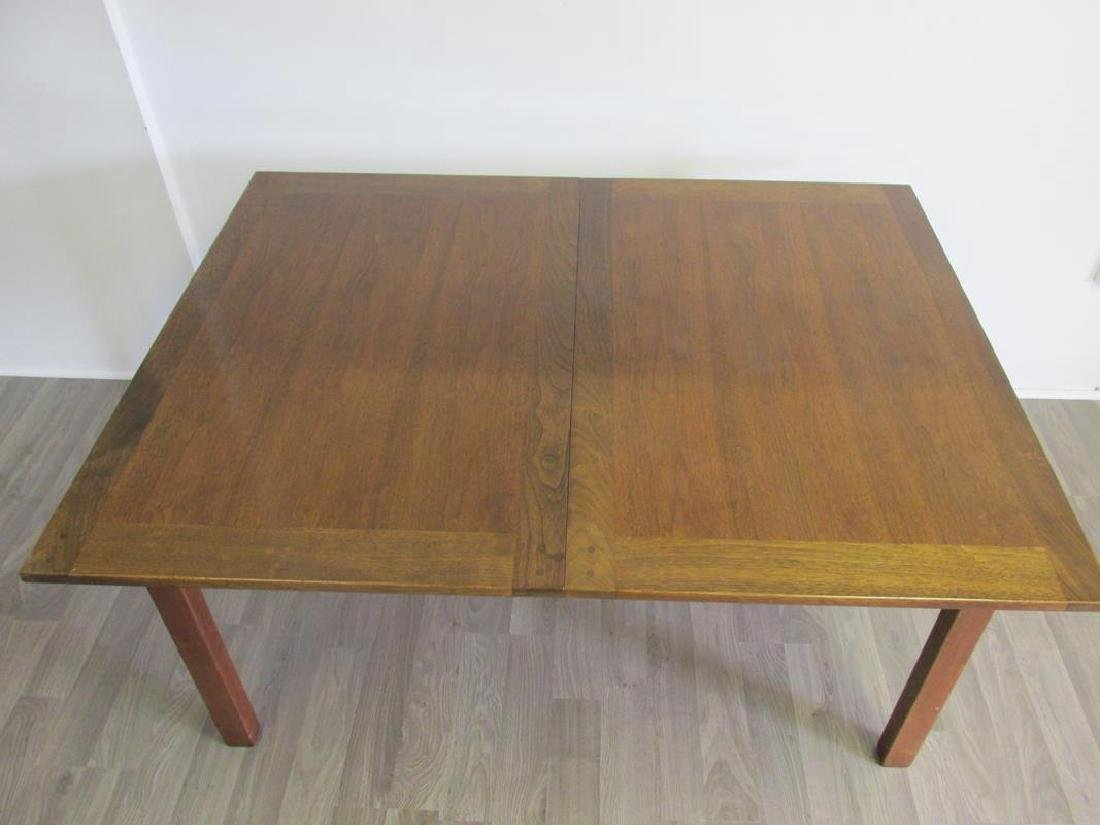 EDWARD WORMLEY FOR DUNBAR DINING TABLE, 3 LEAVES - 2