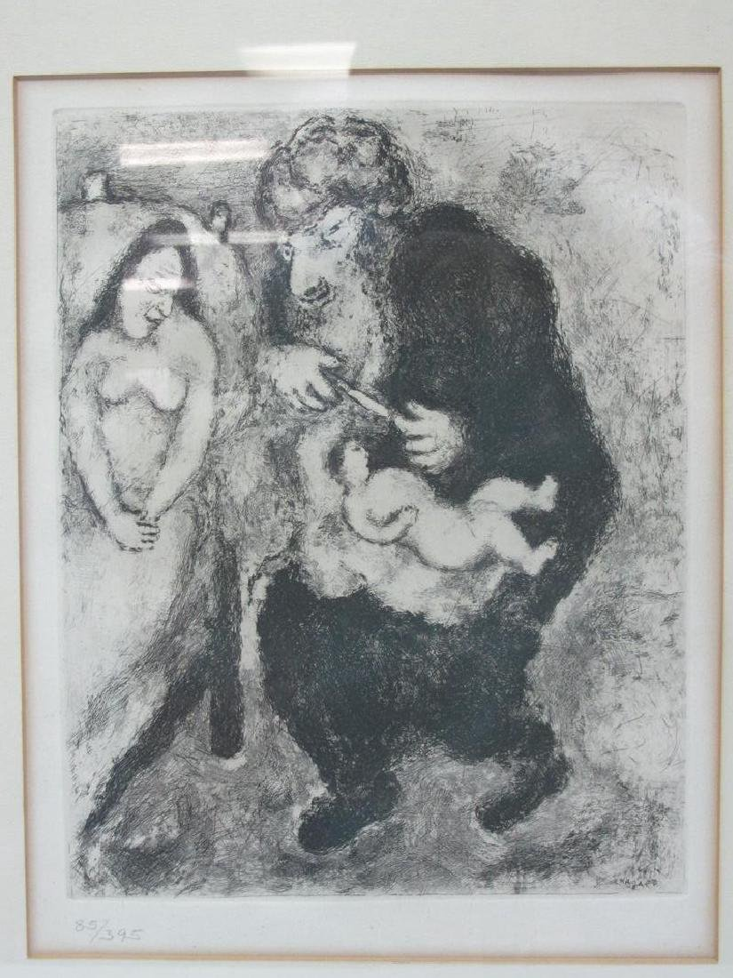 MARC CHAGALL ORIGINAL ETCHING, NUMBERED