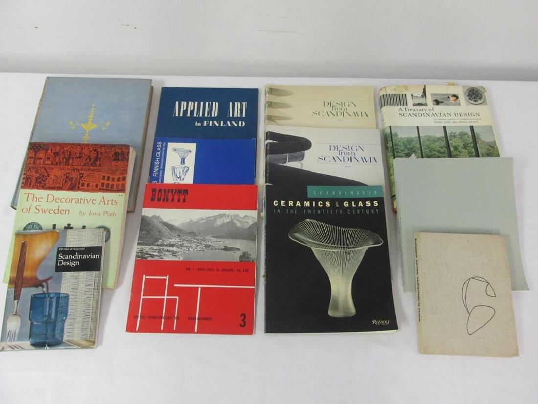 12 SCANDINAVIAN DESIGN BOOKS