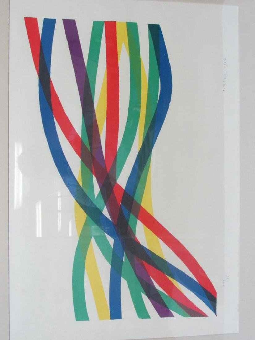 PIERRO D'ORAZIO ABSTRACT LITHO, S/N, 1967