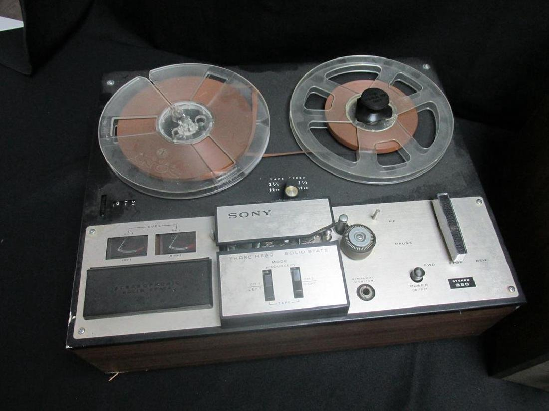 SONY REEL-TO-REEL, VINTAGE ONKYO STEREO SYSTEM - 2