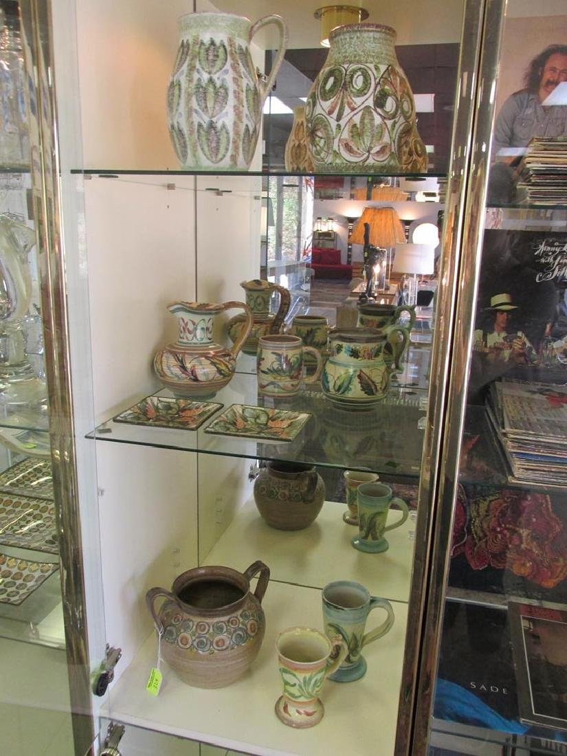 GROUPING OF DENBY POTTERY, ENGLAND