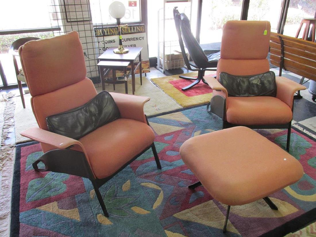 GEOFF HOLLINGTON FOR HERMAN MILLER LOUNGE CHAIRS