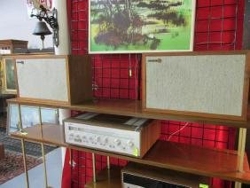 YAMAHA CR-820 STEREO RECEIVER, RECTILINEAR SPEAKER PAIR
