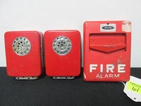 FARADAY FIRE ALARM PULL AND TWO ALARMS