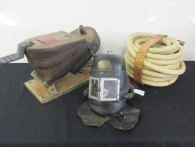 Siebe Gorman & Co. Ltd Smoke Helmet & Bellows