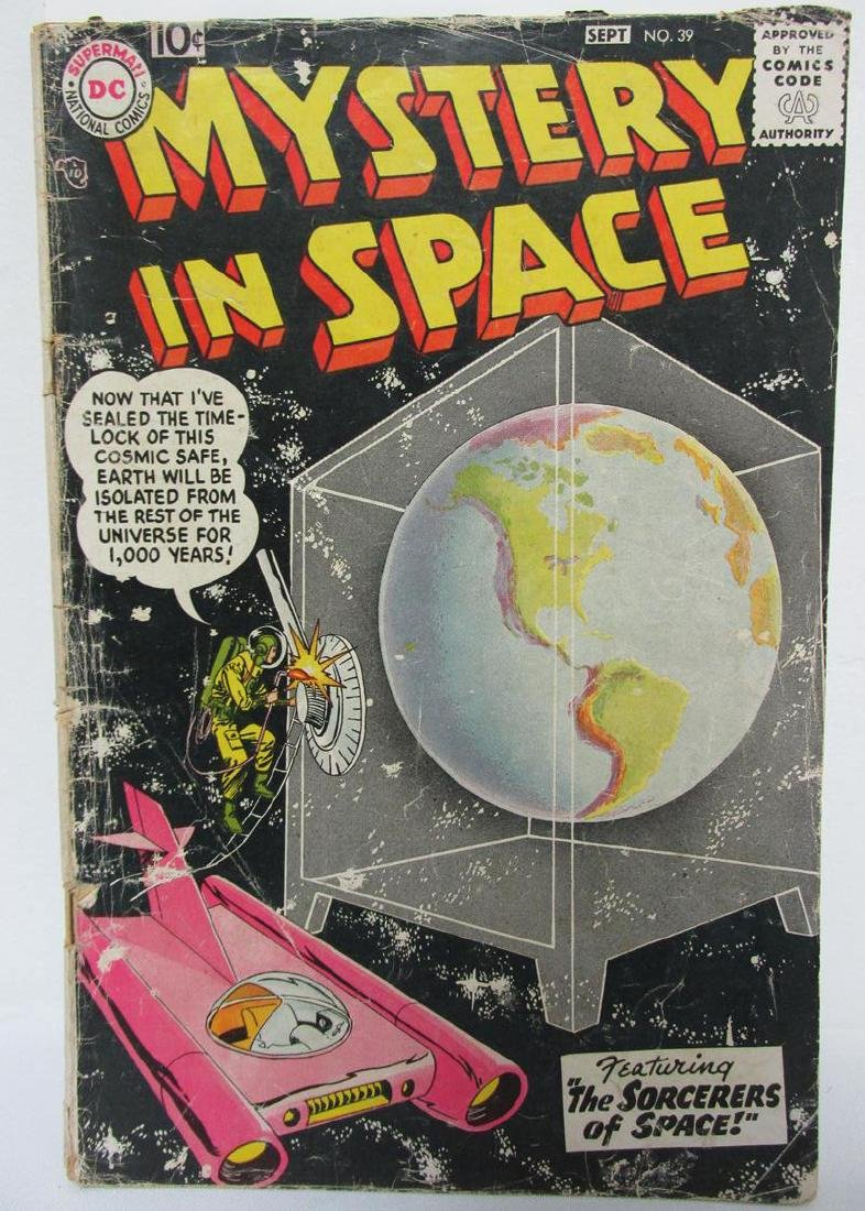 1957 MYSTERY IN SPACE #39 COMIC BOOK