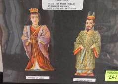 C1895 EMPEROREMPRESS OF JAPAN PAPER DOLL SET
