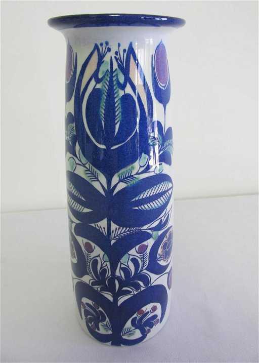 Berte Jessen For Royal Copenhagen Fajance Vase