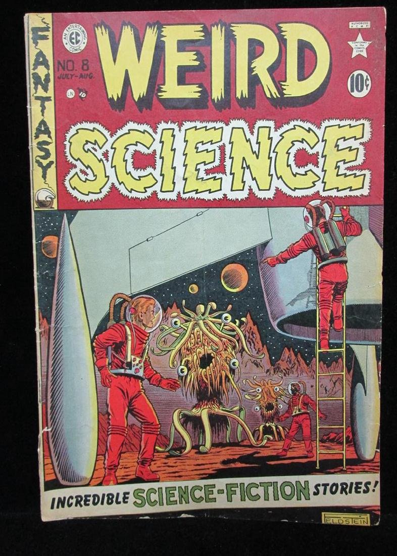 1951 WEIRD SCIENCE #8 COMIC BOOK