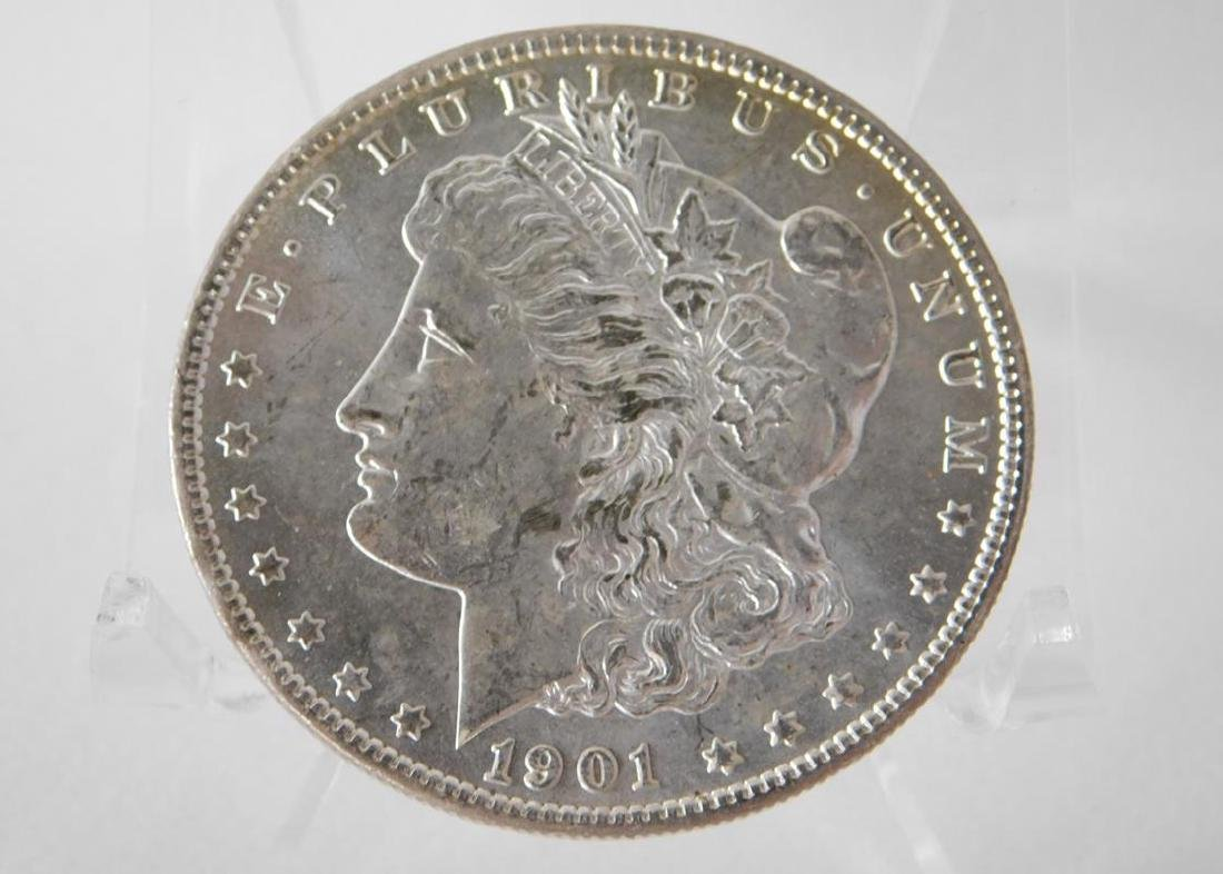1901-O MORGAN SILVER DOLLAR - BU