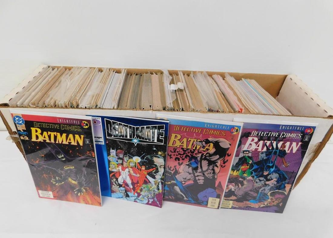 LONG BOX OF COMIC BOOKS