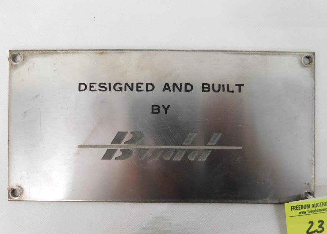 NEW HAVEN RAILROAD BUILDER'S PLATE