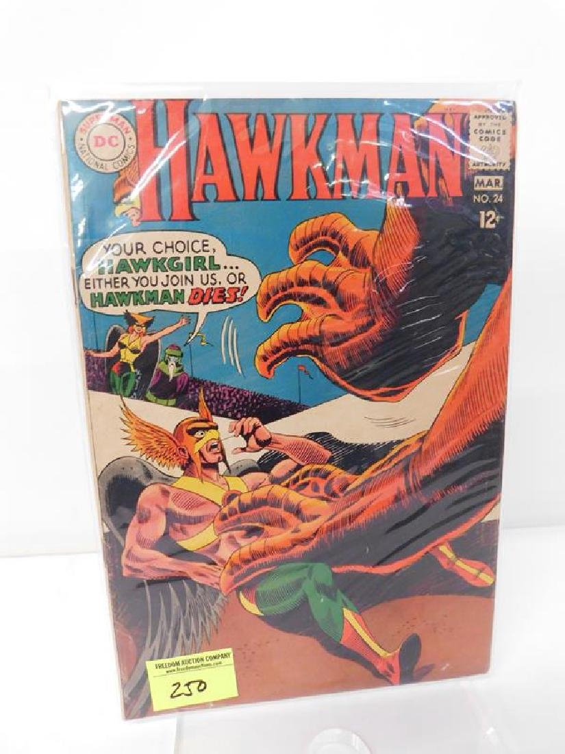 1960 HAWKMAN #24 COMIC BOOK