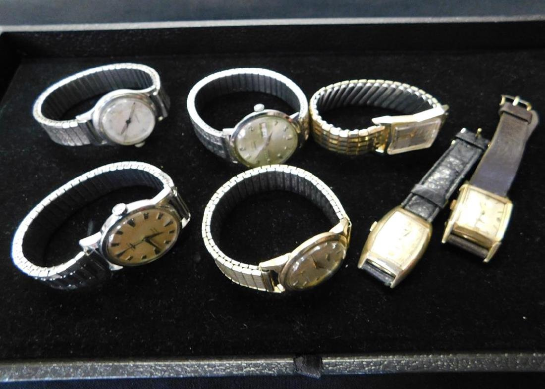 GROUPING OF LONGINES WRISTWATCHES