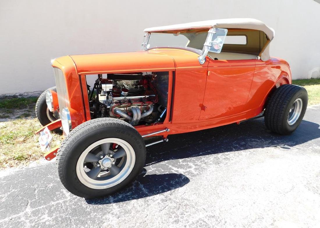 1932 FORD HIBOY ROADSTER STREET ROD