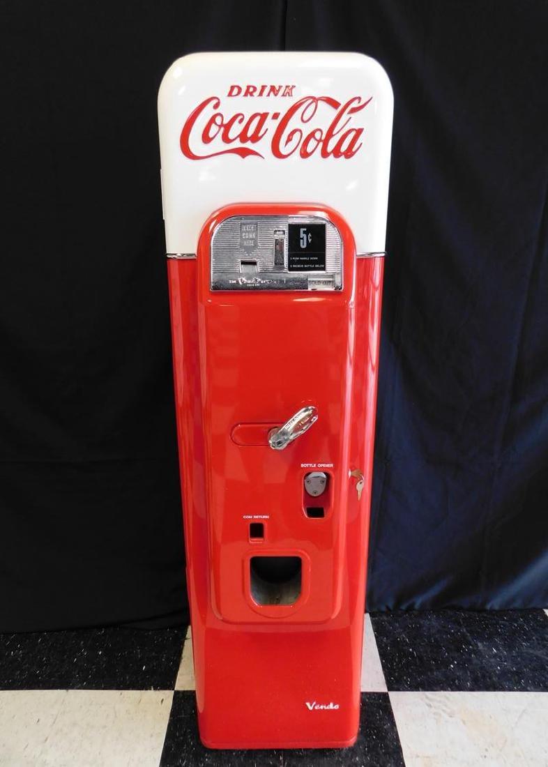 COCA-COLA VENDO 44 SODA MACHINE