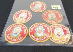 CIRCUS HALL OF FAME PATCHES