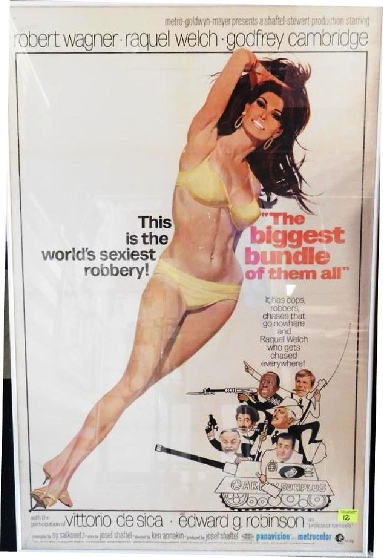 """THE BIGGEST BUNDLE OF THEM ALL"" MOVIE POSTER, 1967"