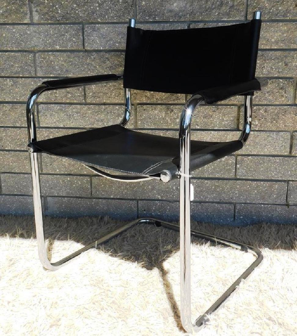 4 MART STAM S34 CANTILEVER ARM CHAIRS - 2