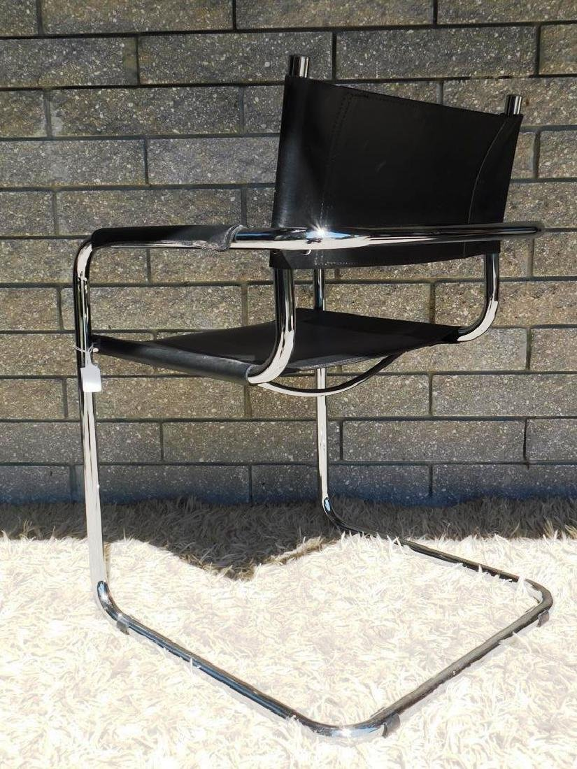 4 MART STAM S34 CANTILEVER ARM CHAIRS - 3