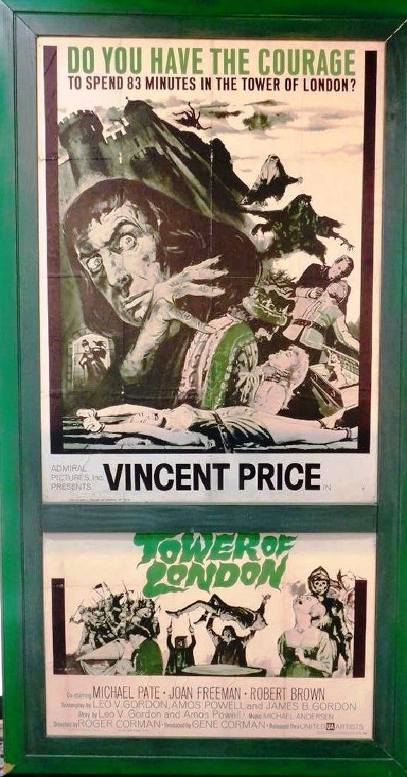 """TOWER OF LONDON"" MOVIE POSTER, 1962"