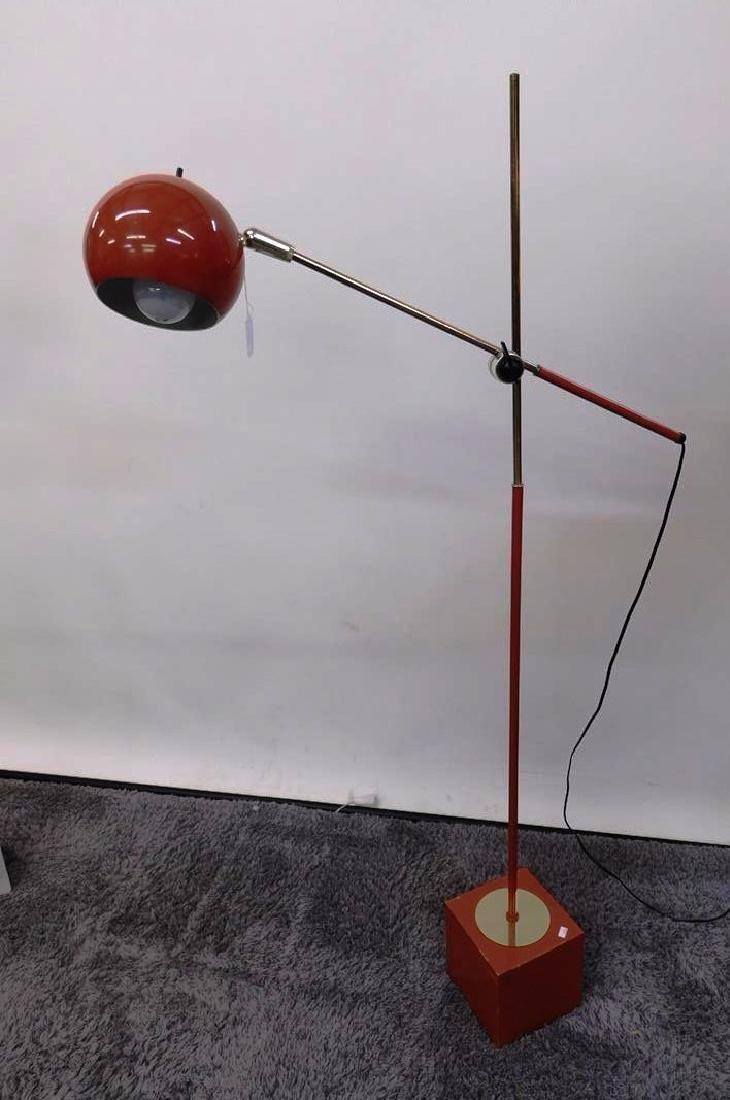 ARTICULATING EYEBALL FLOOR LAMP