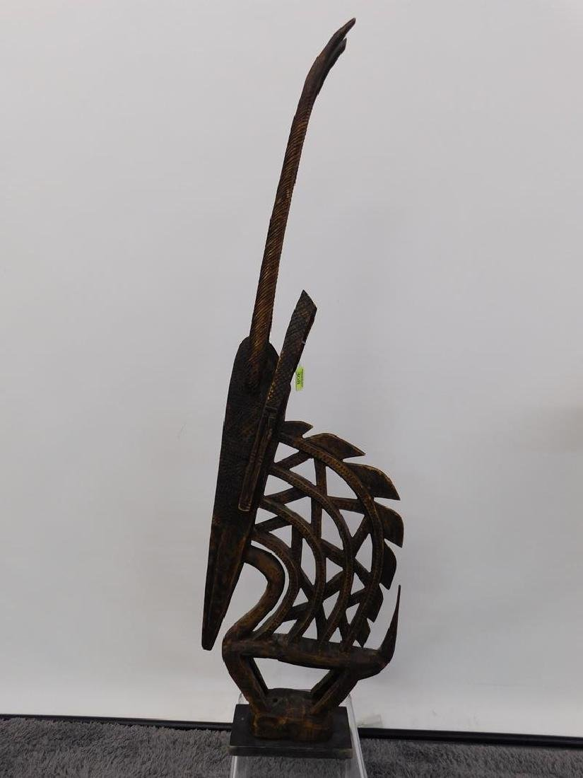 FIGURAL AFRICAN CARVING - TRIBAL ART